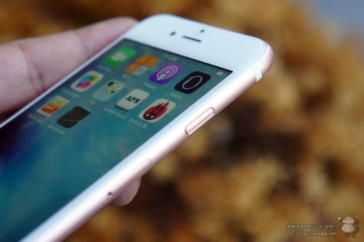 아이폰6s, 플러스, 로즈골드, 디자인, 기능, 특징, 3d 터치