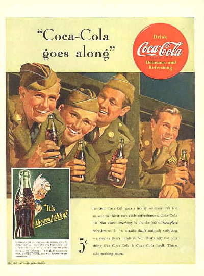 Coca Cola World War 2