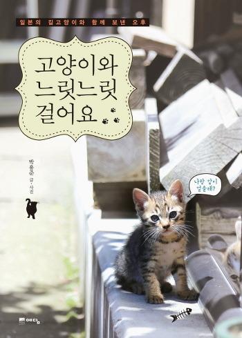 일본의 여유로운 길고양이