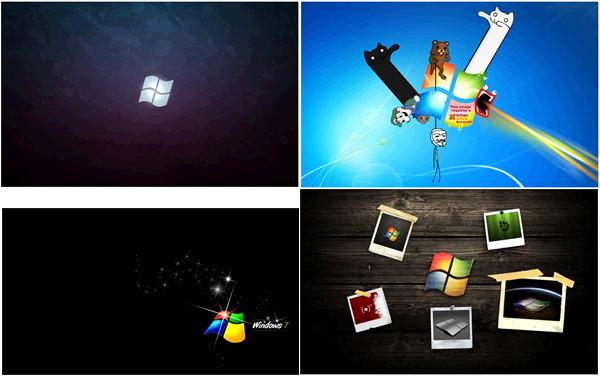윈도우7 바탕화면 고해상도 2