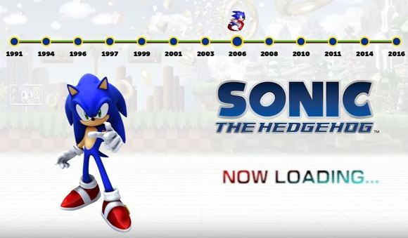 Sonic hedgehog 2006 in 25th anniversary