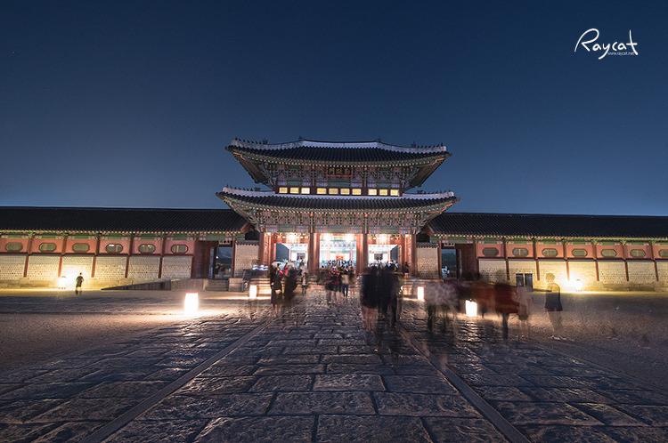 경복궁 야간개장 풍경1