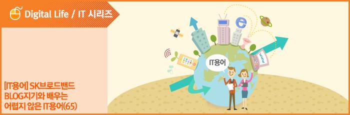 [IT용어] SK브로드밴드 Blog지기와 배우는 어렵지 않은 IT용어(65)