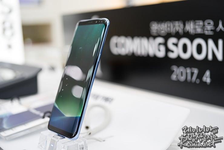 4월 7일부터 시작하는 갤럭시 S8 사전 예약