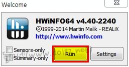 다운로드 받은 프로그램을 바로 실행을 해 보면 환영 메세지가 나온다. [Run]를 클릭하자.