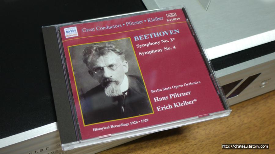 베토벤 교향곡 음반열전 #3 - 교향곡 제2번 & 4번 : 피츠너, 클라이버 (Naxos, 1928/1929)
