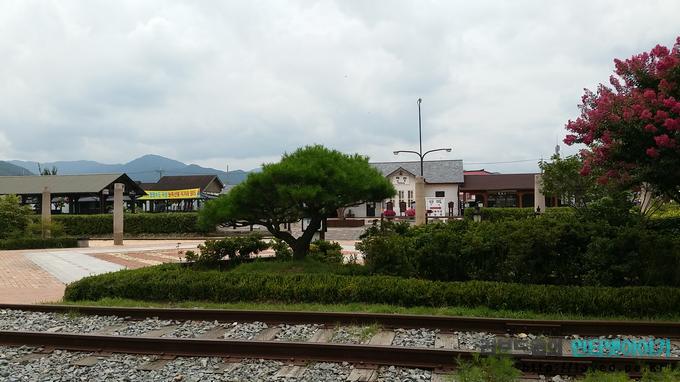 섬진강 기차마을
