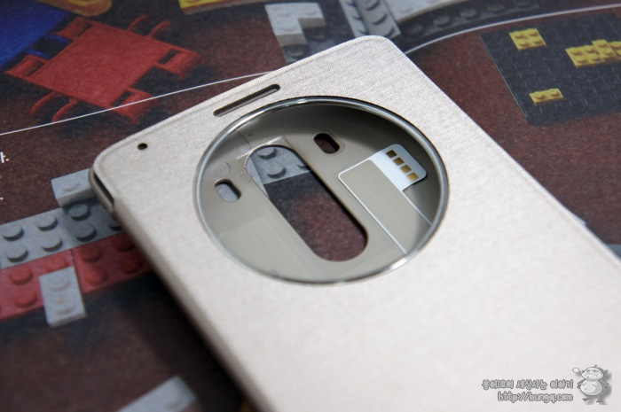 LG G3, 퀵서클케이스, 디자인, 특징, 외형