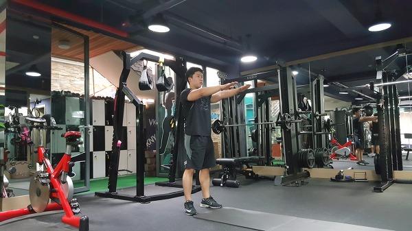 암 워킹&스쿼트(Arm walking&spuat)