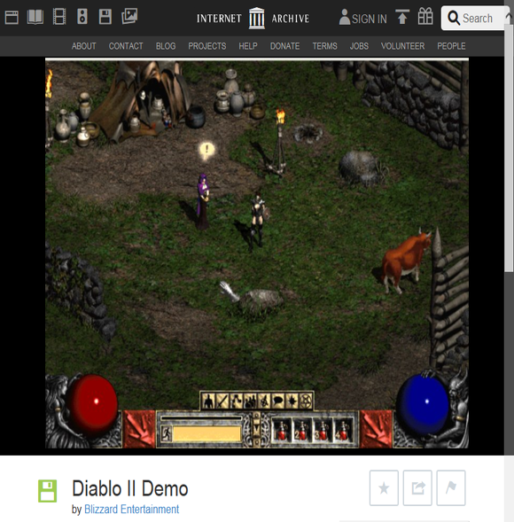디아블로2 데모 Diablo 2 Demo