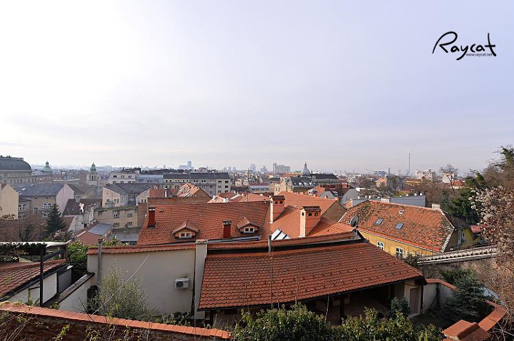 자그레브 시내 전망