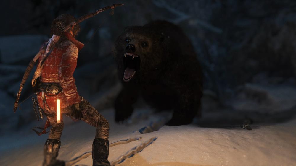 곰과의 추격전 4