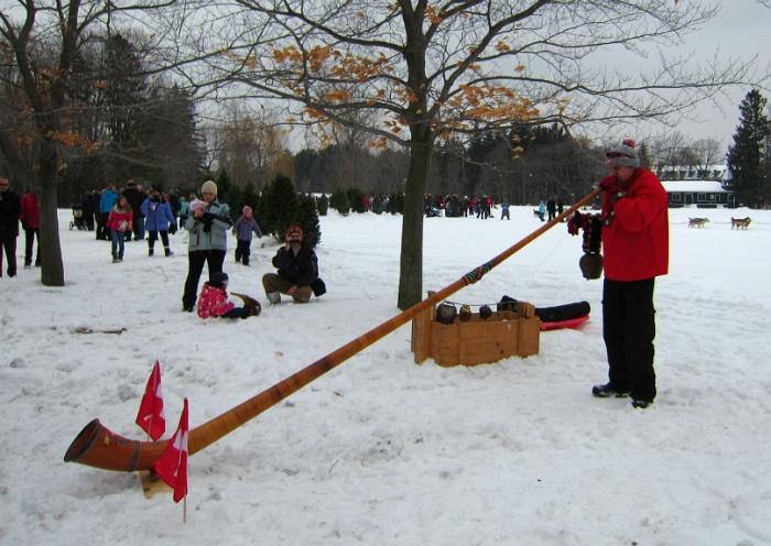 캐나다 오타와 총독관저 겨울 축제 Rideau Hall Winter Celebration
