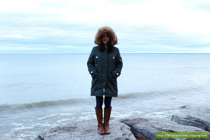캐나다 토론토 공원 온타리오 호수