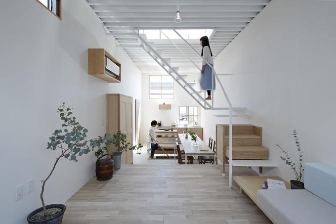 *가구를 이용한 협소주택 내 자율성-[ Tato Architects ] House in Itami