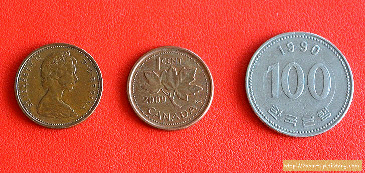 캐나다 역사와 동전 이야기 : 1센트 페니