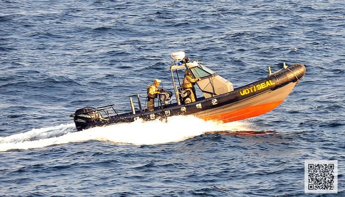 해상 구조업무 중인 해군 UDT  ⓒMediaPaPaer.KR 오세진 사진기자
