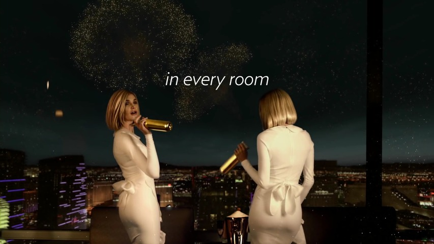 라스베가스 아리아호텔 리조트/카지노(Aria Hotel Resort & Casino Las Vegas) TV광고 - '룸서비스(Room Service)'편 [한글자막]