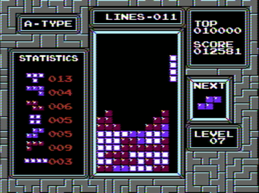 패미컴 테트리스 NES Tetris
