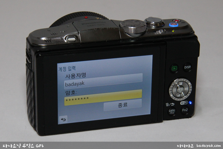 미러리스 카메라 파나소닉 루믹스 GF6 Wi-Fi