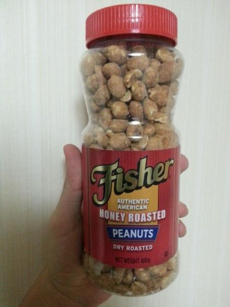 미국 Fisher 허니 드라이 로스티드 피넛