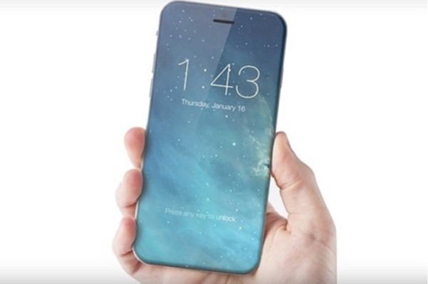 컨셉 디자인 아이폰8