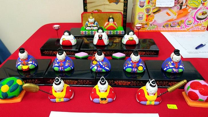 캐나다 일본 벼룩시장 플리마켓 헤이안 시대 Hinamatsuri 인형 축제