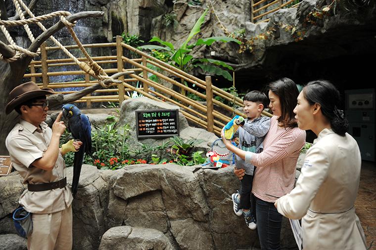 더정글 아쿠아플라넷 일산 위치 서울근교 동물원