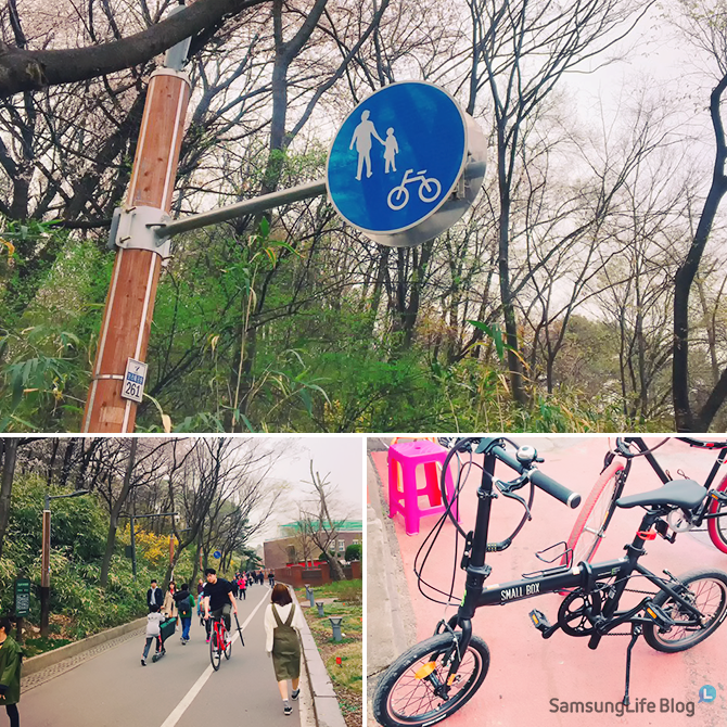 자전거라이딩코스