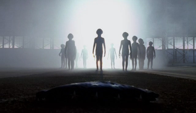 외계인 조우 장면