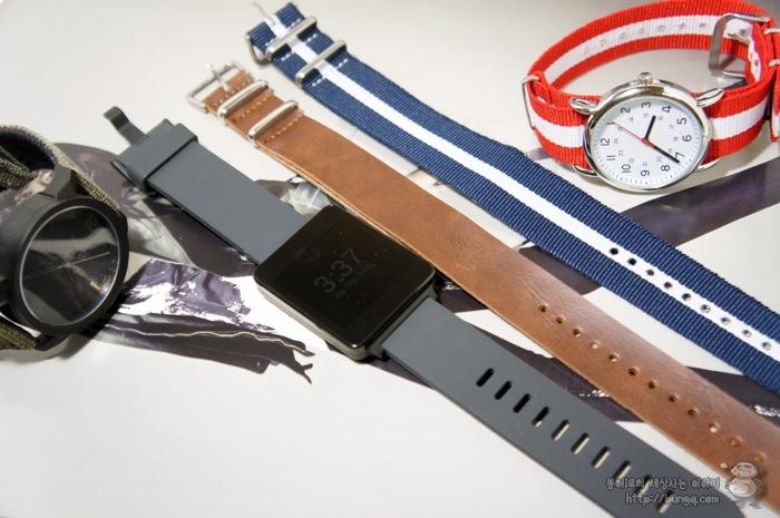 g watch, G워치, 시계줄, 교체, 나토밴드