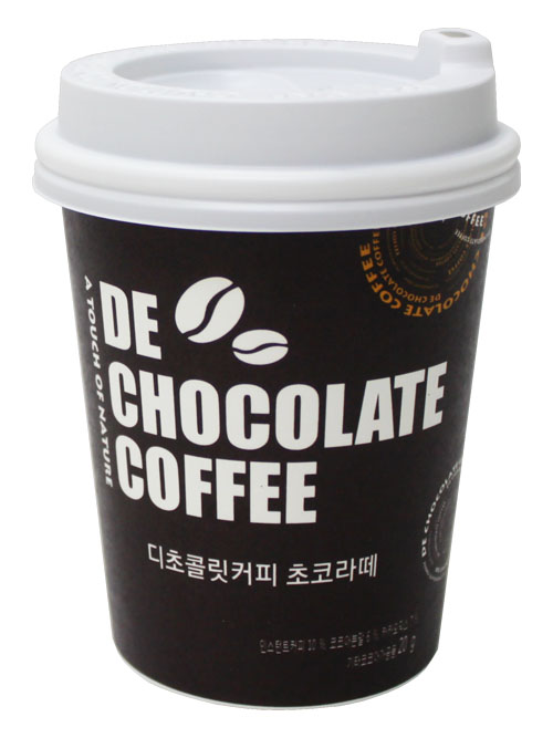 디초콜릿커피, CU편의점에 '커피초코라떼' 출시