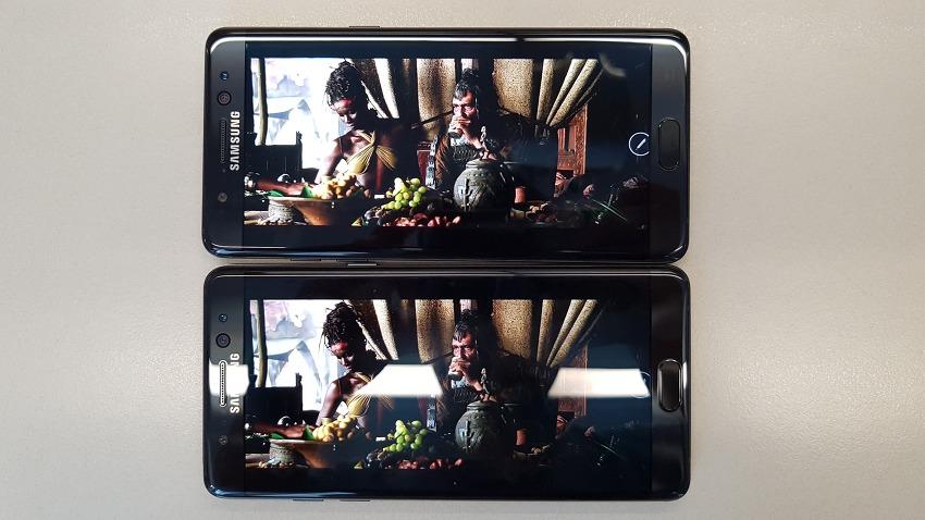 영화, 애니를 즐기는 이들에게 꼭 필요한 갤럭시노트7 디스플레이의 2가지 기능은?