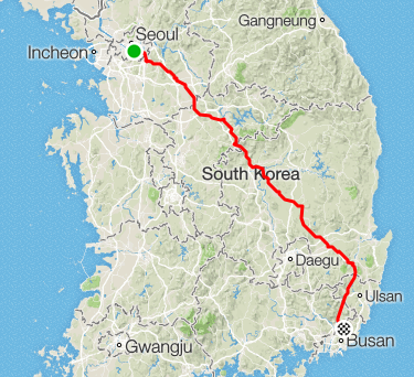 부산-서울 무박 라이딩.