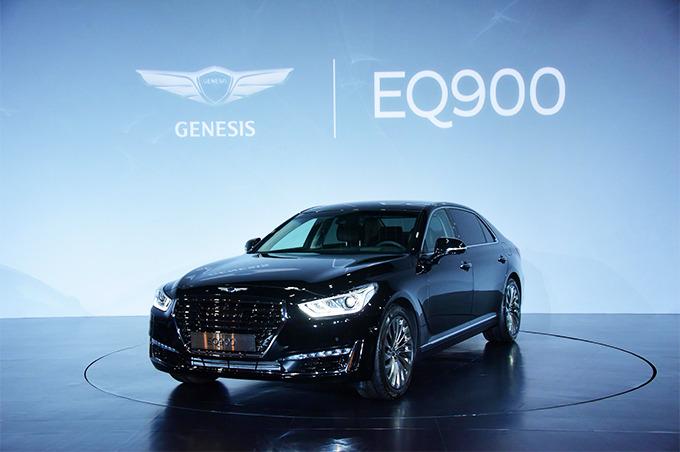 제네시스 신차발표회 EQ900