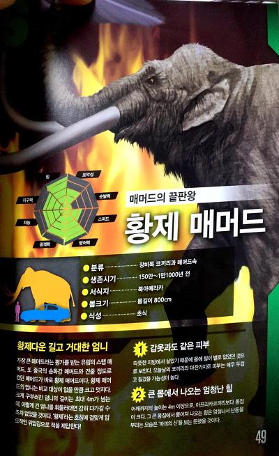 최강동물왕 멸종동물편