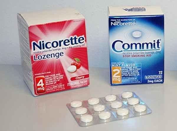 니코틴 로젠지(nicotine lozenge)