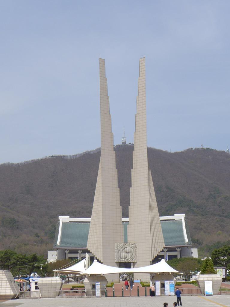 천안4월의  독립기념관