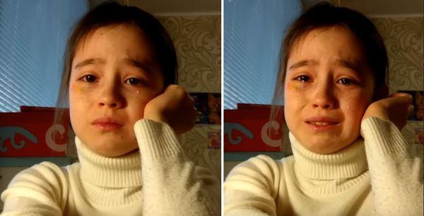 러시아 10세 유튜버의 눈물