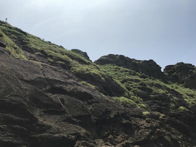 용머리해안 바위