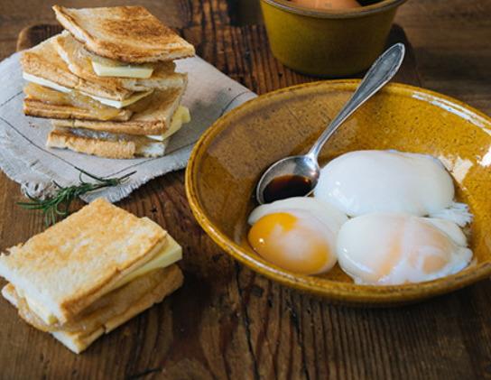 [계란요리하는남자] 일본 온천에서 먹는 바로 그 맛!... '온천란 카야토스트'