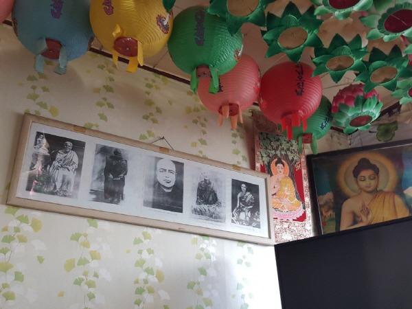 방글라데시 스님 사진