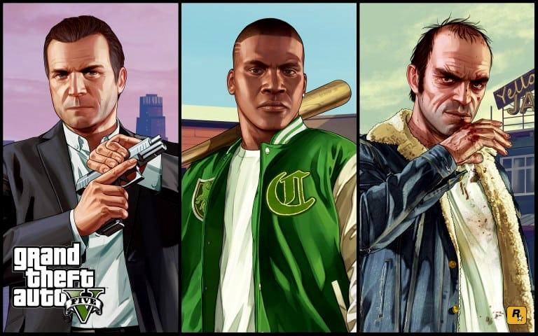 GTA 5 캐릭터