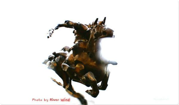 기마 전투상(騎馬戰鬪像)