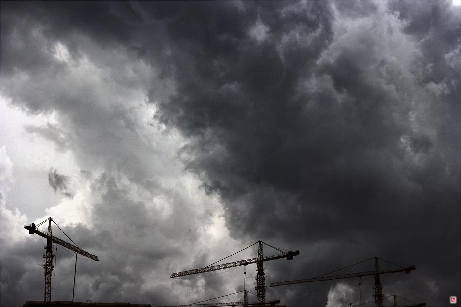 [삼성NX500] 먹구름