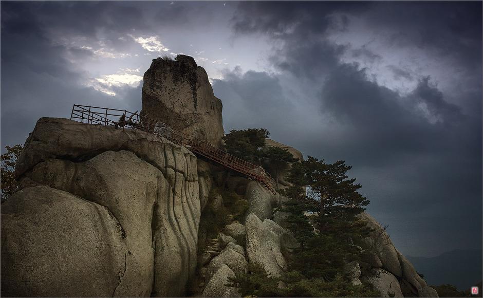 [Canon300D] 울산바위에 오르다