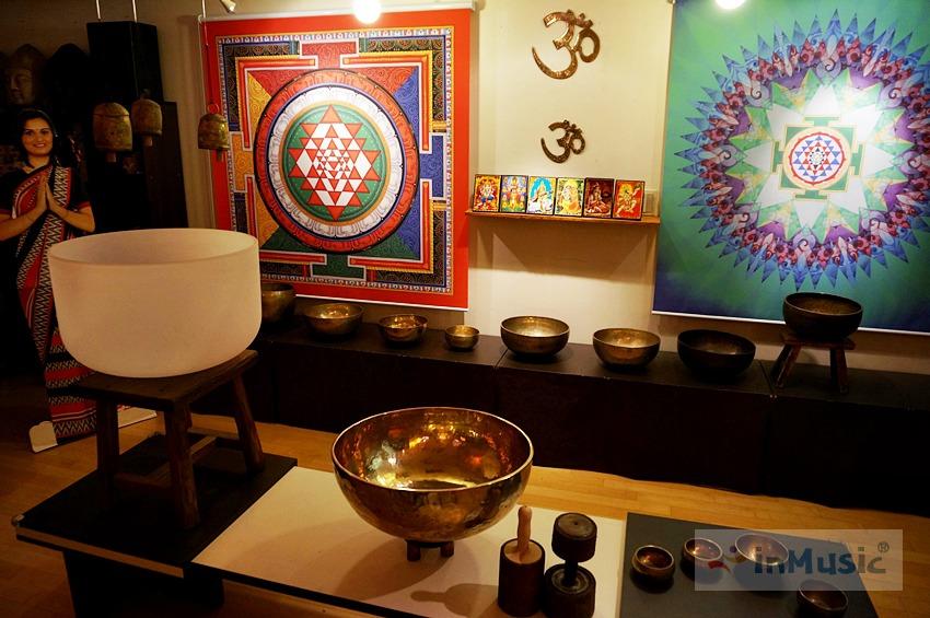 54cm 명상주발 싱잉볼 속 Crystal Bowl Healing 음반 - inMisic 인뮤직 / 백색소음, 집중력 향상 소리명상, 빈야사 요가 음악