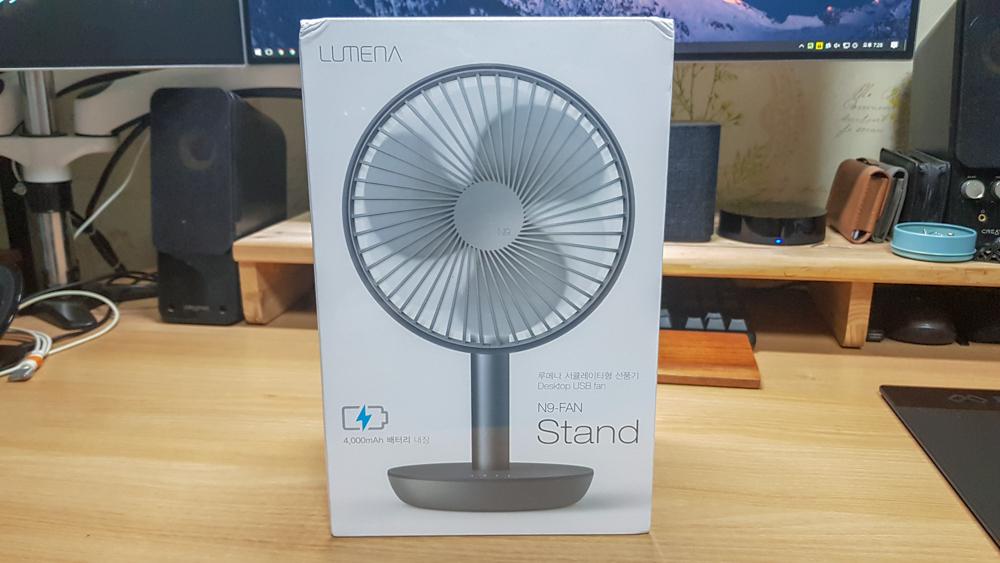 오난 루메나 N9-FAN STAND 서큘레이터형 선풍기 내부 포장 박스