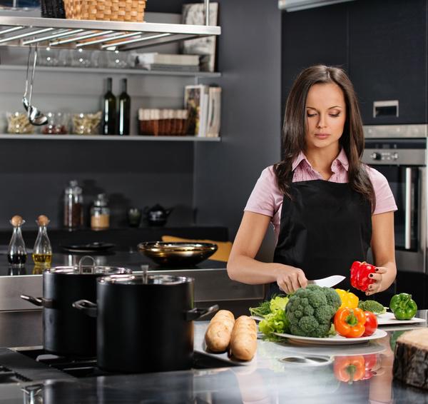 부엌에서 요리하는 여성 스톡사진 이미지(jpg) 모음