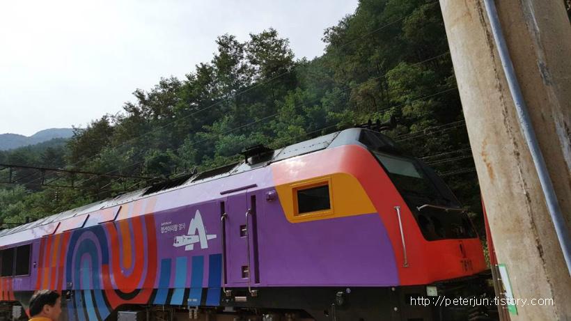 정선아리랑 열차